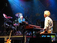 Van der Graaf Generator on stage in 2009