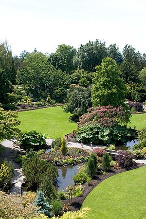 Queen Elizabeth Park, British Columbia - Another view of the park