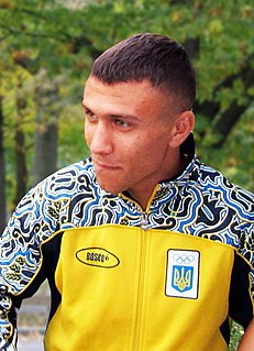 Vasyl Lomachenko Ukrainian professional boxer
