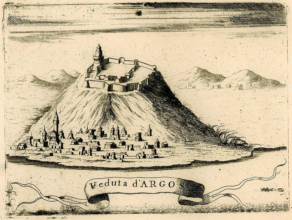Veduta d'Argos - Coronelli Vincenzo - 1688