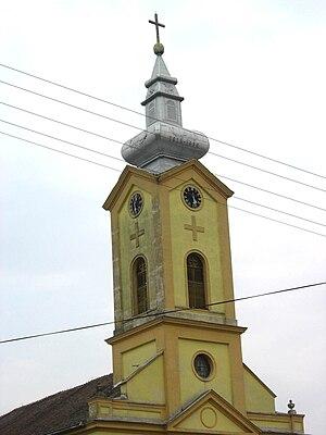 Torak (Žitište) - Image: Veliki Torak, Romanian Orthodox church