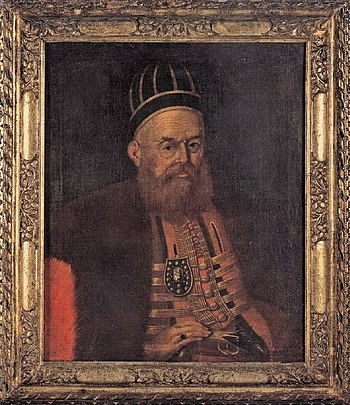 Ali Pasha Tepelena was a powerful autonomous Ottoman Albanian ruler who governed over the Pashalik of Yanina.