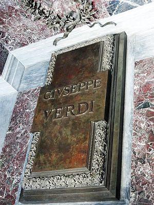 Casa di Riposo per Musicisti - Verdi's grave at Casa di Riposo, Milan
