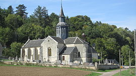 The church in Vertault