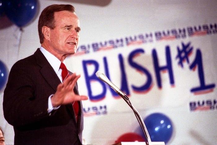 Vice President Bush campaigns for President in Augusta, South Carolina 3145
