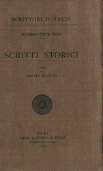 Giambattista Vico: Scritti storici