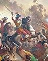 Victor Meirelles - 'Battle of Guararapes', 1879, oil on canvas, Museu Nacional de Belas Artes, Rio de Janeiro 2 (André Vidal de Negreiros).jpg