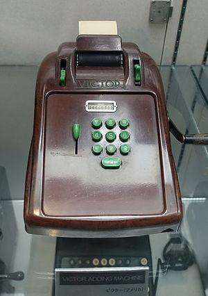 Victor Technology - Victor adding machine