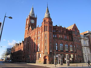 Grade II listed buildings in Liverpool-L3 - Victoria Building