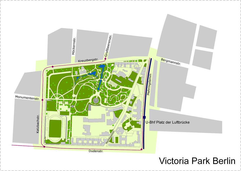Victoria park berlin