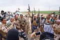 Victory celebration of Iraqi defenders in Saladin Governorate (3).jpg