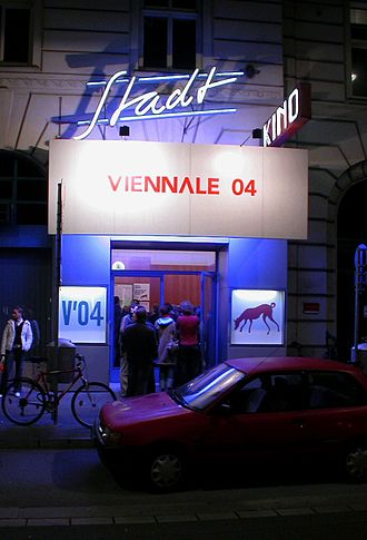 Vienna International Film Festival -  The Stadtkino during the Viennale 2004