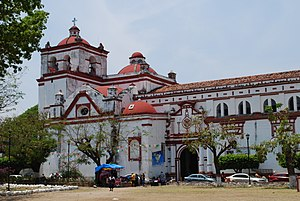 Chiapa de Corzo, Chiapas - View of the Santo Domingo Church
