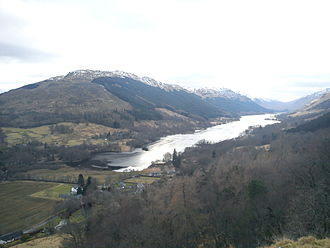 Clan MacLaren - Balquhidder from Creag an Tuirc, the gathering place of the Clan MacLaren