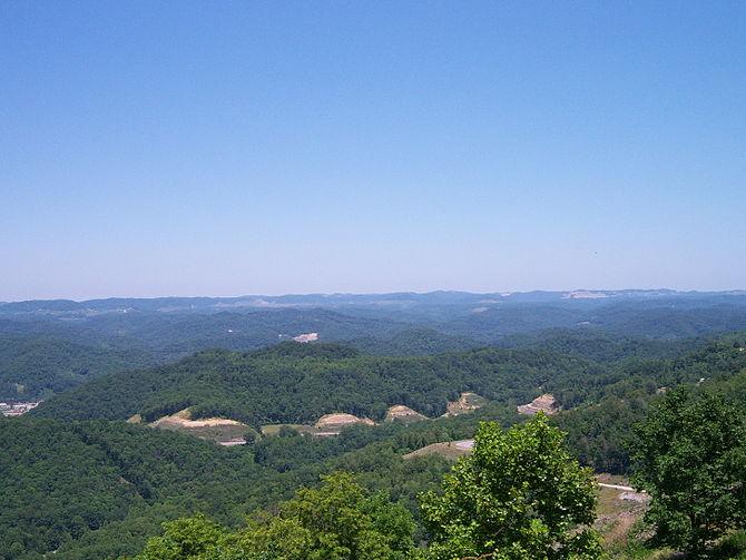 Pine Mountain near Whitesburg, Kentucky
