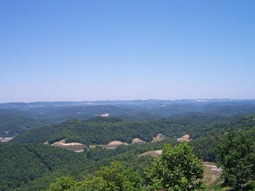 View from Pine Mountain (Kentucky)