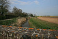 View from Smallhythe Bridge over the Reading Sewer towards Barrowsland Farm - geograph.org.uk - 414955.jpg