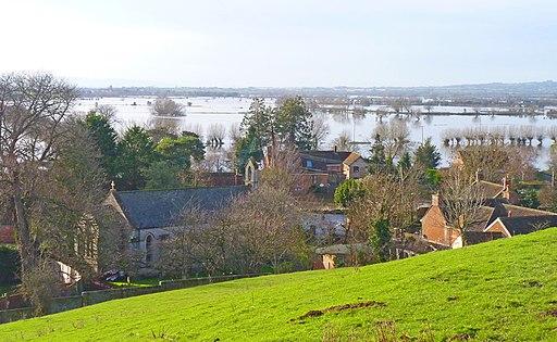 View of Burrowbridge, Somerset (geograph 3819211)