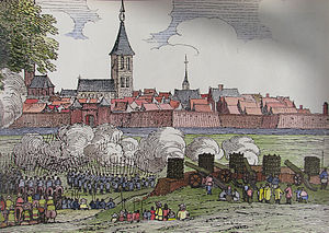 Siege of Groenlo (1595) - An artist's impression of the siege