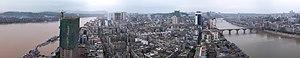 Jiangyang District - Image: View of Luzhou, Sichuan