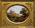 View of Montoire fortress (department Loir et Cher), Jean-Baptiste-Gabriel Langlace, before 1844, painting on porcelain - Villa Vauban - Luxembourg City - DSC06519.JPG