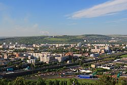 View of Novokuznetsk