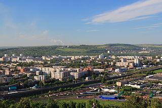 Novokuznetsk City in Kemerovo Oblast, Russia