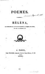 Alfred de Vigny: Héléna