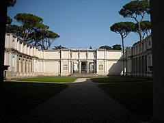 Villa Giulia - Court - Vasari - Vignola