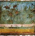 Villa di livia, affreschi di giardino, parete corta meridionale 01.jpg