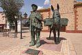 Villafranca de los Caballeros, escultura a los Villafranqueros.jpg