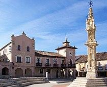 Villalon de Campos rollo y ayuntamiento lou.jpg