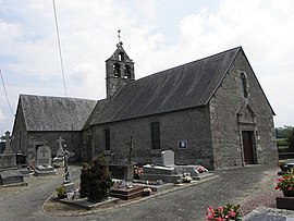 The parish church of Saint-Pierre à Villiers-le-Pré