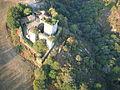Vista aérea del castillo de Pambre 9.JPG