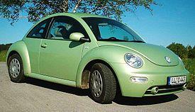 Volkswagen New Beetle - Wikipedia, den frie encyklopædi