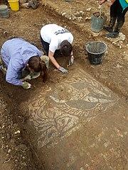 Boxford Roman mosaic