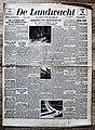 "Voorpagina Vlaams Katholiek dagblad ""De Landwacht"" 30 januari 1943.jpg"