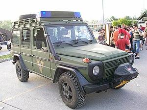 Special Operations Battalion (Croatia) - 4WD Utility