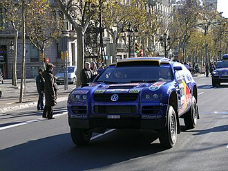 Jutta Kleinschmidt - Jutta Kleinschmidt, VW Touareg, Paris Dakar Rally, 2005