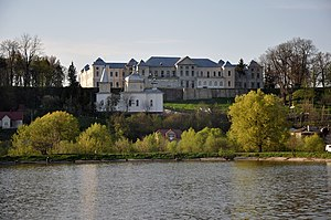 Vyshnivets Palace - Image: Vyshnivets Palace 1 RB