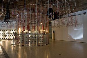 Dutch Design Awards - Studio Wieki Somers won the Golden Eye in 2009  with the Merry-go-round Coat Rack, designed for the cloakroom of Museum Boijmans Van Beuningen
