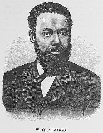 William Q. Atwood - Atwood in 1887