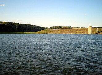 Wilkes County, North Carolina - The W. Kerr Scott Dam and Reservoir