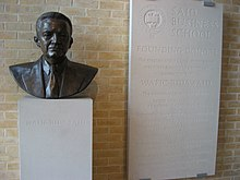 Wafic Said bust Oxford Business School.jpg