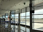 Waiting area, Zadar Airport.jpg