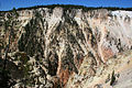 Wall of the Grand Canyon of Yellowstone River.JPG
