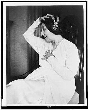 Wanda Landowska - NYWTS/LOC cph.3c11230. Wanda Landowska, 1953