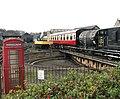 Wansford station - K6 telephone box - geograph.org.uk - 1560801.jpg