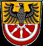 Das Wappen von Marktredwitz