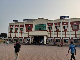 Warangal railway junction front.jpg
